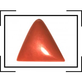 Natural Red Coral Triangular 13+ 7.85ct