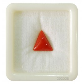 Coral Triangular 4+ 2.4ct