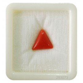 Astrological Coral Triangular 4+ 2.75ct