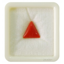 Astrological Coral Triangular 4+ 2.8ct