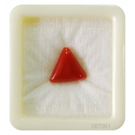 Coral Triangular 6+ 3.9ct