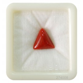 Astrological Coral Triangular 5+ 3.3ct