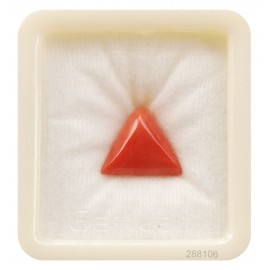Natural Certified Coral Triangular 8+ 5.15ct