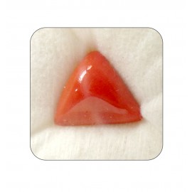 Natural Red Coral Triangular 10+ 6ct