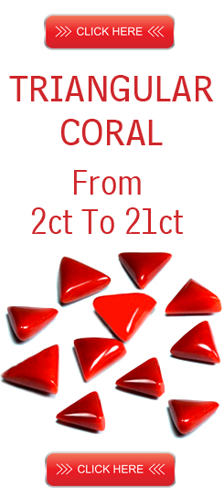 Coral Triangular Shape